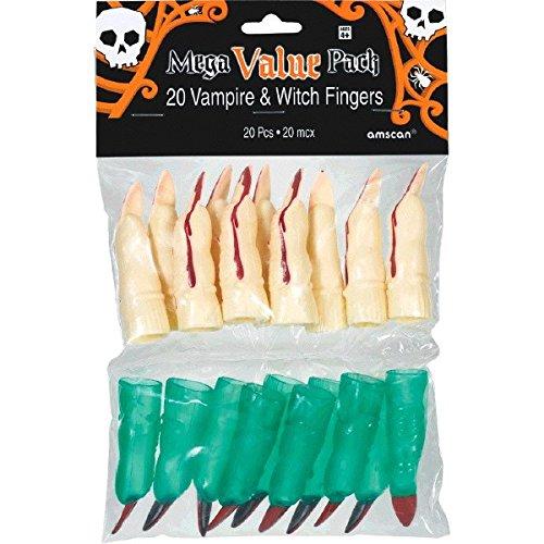 (Amscan International 394796Hexe und Vampir Finger Make-up)