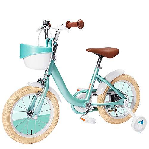 YUMEIGE Kinderfahrräder Freestyle Kids 'Bikes, mit Stützrädern Fahrrad 14