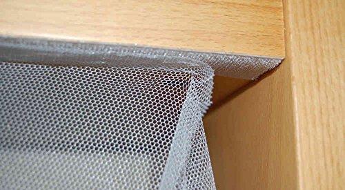 Insect stop moustiquaire extra grand 3 m x 2 50 m blanc - Tela mosquitera aluminio ...