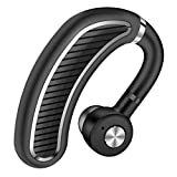 Best 3M Noise-cancelling Headphones - HJYQ Bluetooth Headset [Business Style] Handsfree Earpiece Wireless Review