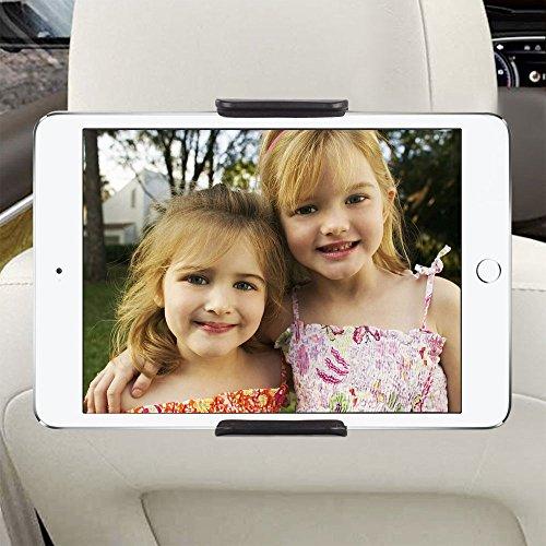 Tablet Kopfstützenhalter, tronisky KFZ-Kopfstützen Tablet Halterung 360 Drehbar KFZ Autohalterung für Apple iPad 2/3/4/Pro/Mini/Air, Samsung Galaxy Tab, Microsoft Surface und Andere 6-11 Zoll Tablets