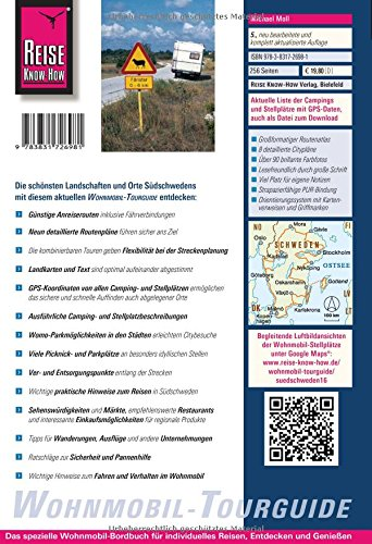 Reise Know-How Wohnmobil-Tourguide Südschweden: Die schönsten Routen: Alle Infos bei Amazon