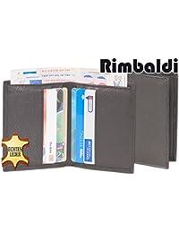 """""""Rimbaldi"""" Mini-Geldscheintasche-Superflach mit Kreditkartenfächer aus weichem, naturbelassenem Kalbsleder"""