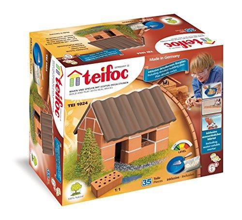 Teifoc Steinbaukästen - TEI 1024 - Kleines Einfamilienhaus