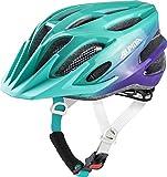 Alpina FB JR. 2.0 Flash Kinder Fahrradhelm - Smaragd-Violet, Kopfumfang:50-55 cm