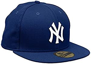 New Era Herren Mlb Basic Neyyan Kappe, Blau/Roy/Whi, 6 1/2