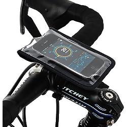 Satechi Bikemate Etui Vélo pour smartphones - Compatible iPhone 5S, 5C, 5, 4S, 4, 3GS, 3G, BlackBerry Torch, HTC EVO, HTC Inspire 4G, HTC Sensation, Droid X, Droid Incredible, Droid 2, Droid 3, Samsung EPIC, Galaxy S2, S3
