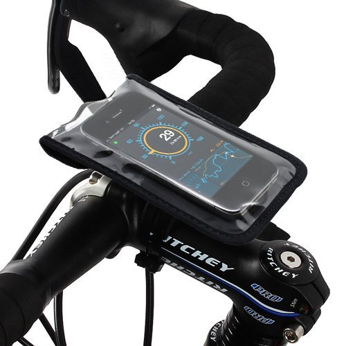 Satechi Bikemate Slim Case 3 - kompatibel mit iPhone 5S, 5C, 5, 4S, 4, 3GS, 3G, BlackBerry Torch, HTC EVO, HTC Inspire 4G, HTC Sensation, Droid X, Droid Incredible, Droid 2, Droid 3, Samsung EPIC, Galaxy S2, S3 -