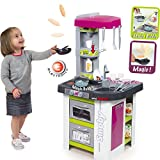 Tefal Studio Küche Bubble viel Zubehör 48x100cm Kochen und Backen: Kinderküche Spielküche Spielzeug Küche Spielherd Kochküche
