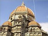 Posterlounge Leinwandbild 160 x 120 cm: Duomo von Florenz von Editors Choice - fertiges Wandbild, Bild auf Keilrahmen, Fertigbild auf Echter Leinwand, Leinwanddruck