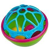 solini Baby Badespielzeug - Badeball mit rasselnden Kugeln / ab 6 Monate / Mehrfarbig