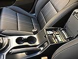 Shazzy Car Accessories Einsatz Mittelkonsole für Tucson 2016 2017 2018 2019 Man.Handbrems