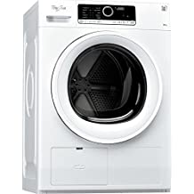 Whirlpool HSCX 80313 lavadora - Lavadora-secadora (Carga frontal, Independiente, Color blanco, A+)