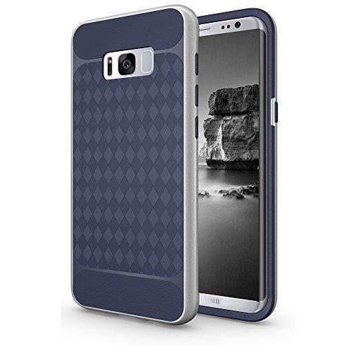 Amagle Samsung Galaxy S8Plus Fall, Moderne Geometrische Design Slim Schutzhülle für Samsung Galaxy S8Plus (2017) (Marineblau) Modernes Design Fall