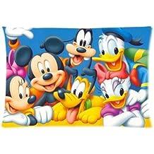 Amazon Fr Taie Oreiller Mickey