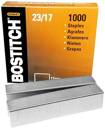 bostitch-23-17-1m-staples-per-hd-12f-hd-23l17-formato-12-x-17-mm-quantita-1000-pcs