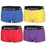 Buffalo Herren Hipster, Boxershorts (M, Farbkombination 4)