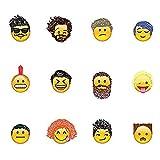 Emoji Aufkleber 19 Blätter mit Emojis Gesicht...Vergleich