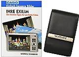 VANTAGE LEATHER BLACK plus Fotobuch IHRE EXILIM für Casio