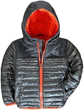 abrigo acolchado con gorro y forro polar en el interior 2-3 años