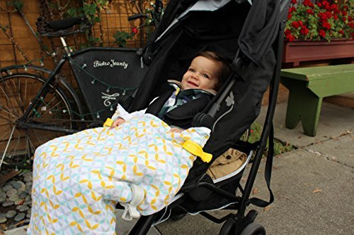 Luxus Musselin Kinderwagen Decke + Clips * Multi für Carrier, playtime + Sleep