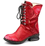 TMA Damen Winter-Stiefel, Feuerrot - 39