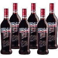 Cinzano Weinaperitif Rosso (6 x 0.75 l)