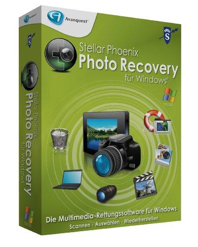Stellar Phoenix Photo Recovery für Win (Mini-Box)