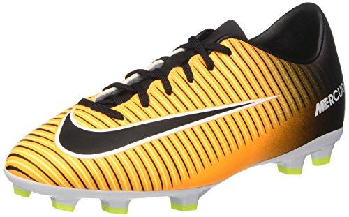 Nike Unisex-Kinder Jr. Mercurial Victory Vi Fg Fußballschuhe, Orange (Laser Orange/black-white-volt), 36 EU (Fußball Schuhe Nike Mercurial Kinder)