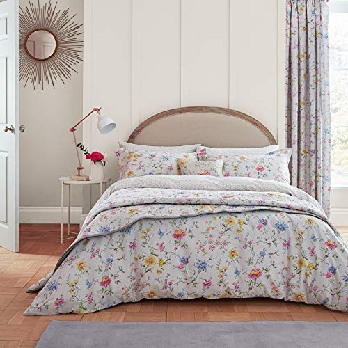 Used, V&A Fleuri Duvet Cover Set, Double, Grey for sale  Delivered anywhere in UK
