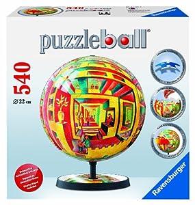 Ravensburger 11137  - Dick Termes: el Espacio y la ilusión - ® 540 Piezas puzzleball