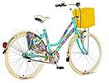 breluxx 26 Zoll Damenfahrrad Venera Fashion Garden Alley Citybike Korb