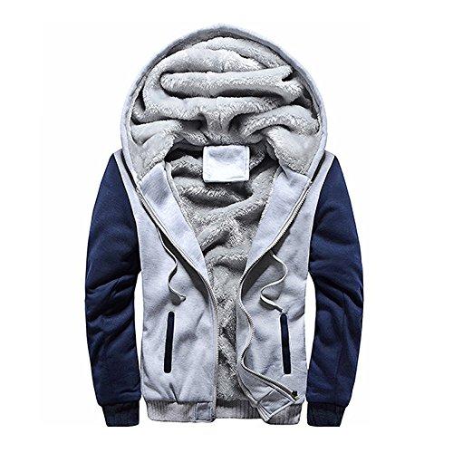 Maglione uomo cappotto inverno più sport in velluto da baseball uniforme felpa con cappuccio hoodie maniche lunghe distintivo sweatshirt camicetta dolcevita classico tops qinsling