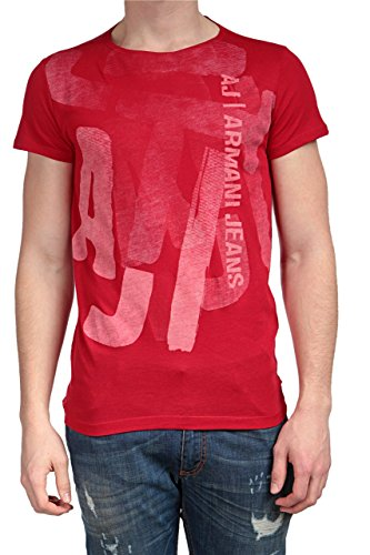 aj-giorgio-armani-jeans-t-shirts-t-shirt-homme-couleur-rouge-taille-xxl