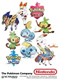 Pokemon Sword and Shield Stickers (Nintendo Switch)