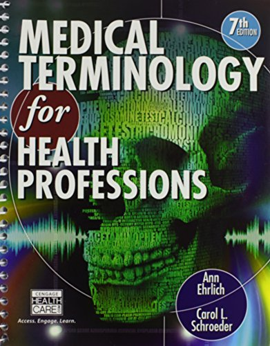 Medical Terminology Textbook + Coursemate Printed Access Card by Ann Ehrlich (2012-02-15)