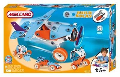 Meccano 736106 Build & Play - Avión para construir y jugar por Meccano