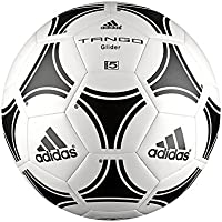 Adidas Tango Glider Balón, Unisex Adulto, Blanco/Negro, Talla Única