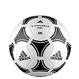 Adidas, Pallone da calcio Uomo Tango Glider, Bianco (White/Black), Taglia 4