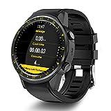 Teepao F1 GPS Smart orologio sportivo con doppia fotocamera altimetro supporto 2G SIM Card cardiofrequenzimetro 3,3 cm touch screen Smart Watch per iOS Android Samsung mobile phone