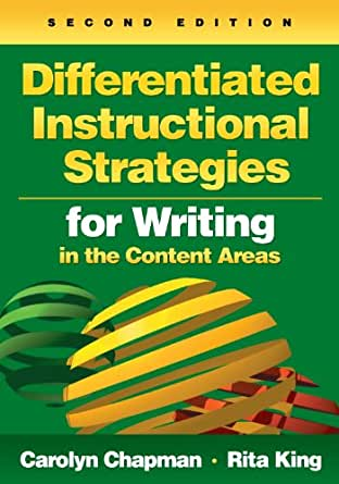 Differentiated Instructional Strategies For Writing In The Content