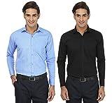 FOCIL Black & Sky Blue Formal Wear Combo...