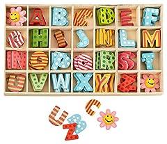 Buchstabenkasten Bunt