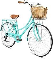 SPARTAN 700c Platinum City Bicycle Turquoise, 28