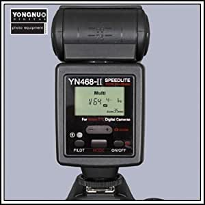 Yongnuo YN-468 II i-TTL Speedlite Flash Avec l'écran LCD, pour Nikon