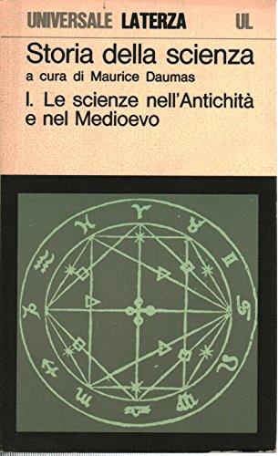 Le scienze nell'antichità e nel Medioevo