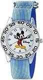 Disney Mickey Mouse Kids 'w002507Mickey Maus Analog Display Analog Quarz Blau Armbanduhr