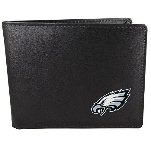 Siskiyou Herren Philadelphia Eagles Geldbörse, schwarz, Falttür Slim (Eagles Geburtstag Philadelphia)