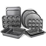 Mastronics Premium Bakeware 10 Pack - Set of 10 Carbon Steel Baking Trays