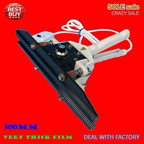 Portátil muy gruesas bolsas de aluminio sellado herramienta 110/220V, Manual sellador 300mm eléctrico calefacción Temperatura Constante 300Grado